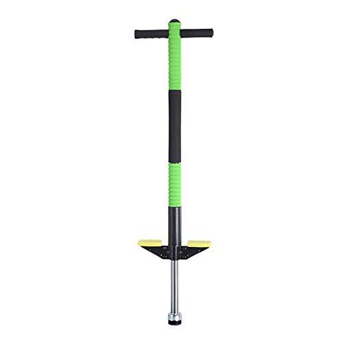 SLCE Pogo Stick, Adecuado para Niños De 4 A 10 Años, El Muelle Reforzado Puede Soportar 40 Kg, Ejercita El Equilibrio Corporal De Los Niños, Adecuado para Interior Y Exterior,Verde