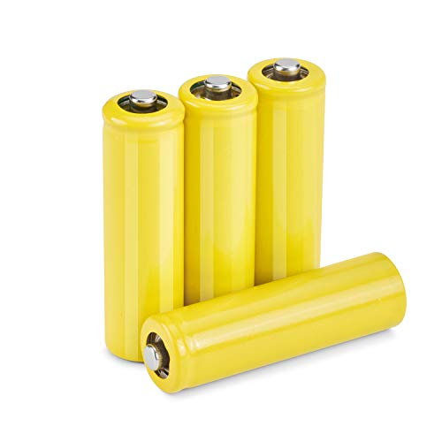 theeasyhomelife AA Size Hot Dummy Fake Battery Setup Shell, (4-Pack)