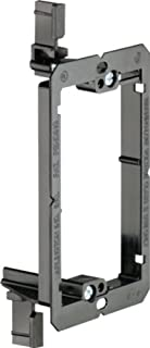 Arlington LV1-10 Low Voltage Mounting Bracket, 1-Gang, Black, 10-Pack