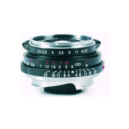 Voigtlander Color-Skopar Pan 35mm f/2.5 Wide Angle Manual Focus Lens - Black