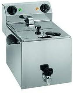 Freidora eléctrica profesional - 1 cubeta de 8 litros - 3,25 kW ...