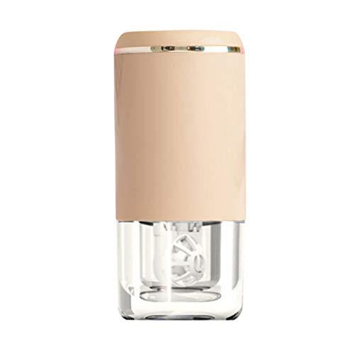 QKFON Ultraschall-Kontaktlinsenreiniger, tragbare Kontaktlinsenreinigungsmaschine, USB-Aufladung, schnelle Vibrationswaschanlage für weiche und starre (RGP) Kontaktlinsen, 4,1 x 8,6 cm (lila) (lila)