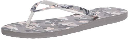 Roxy Damen Portofino Flip Flop Sandals Flipflop, Camouflage, 42 EU