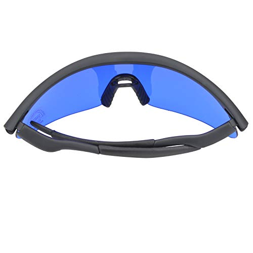 Hinzonek Golf Find Glasses Hombres Mujeres Sport Ball Finder with Glass Cloth Golf Sports Eyewear
