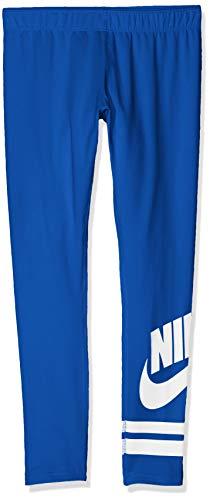 NIKE G NSW LGGNG Favorite GX3 Mallas, Niñas, Azul (Indigo Force/White), XS