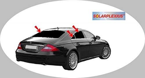 Solarplexius Sonnenschutz Autosonnenschutz Scheibentönung Sonnenschutzfolie Mercedes CLS W219 Bj. 04-10