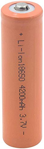 Batería de Litio de 18650 3 7V 4200 MAH Lion Ion BATERÍAS Recargable para LA BATERÍA DE MICRÓFONO Externo DE LA MICRÁTICA DE LA Linea-2 Piezas