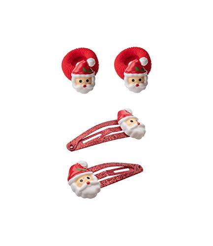 SIX 4er Set weihnachtlicher Haarschmuck für Kinder (04-703)