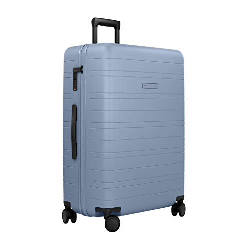 HORIZN STUDIOS H7 Check-in Luggage (90 L) with an inbuilt Compression Pad. for Trips 14+ Days. (Blue Vega)