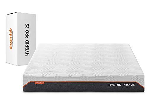 Dreamlab Colchón Hybrid Pro 25 | Nuestro Colchón más Avanzado | Tecnología Híbrida | Pocket Springs y Memory Foam con Gel | Hipoalergénico | Certificaciones CertiPUR-US y Oeko Tex Standard 100 | King Size (200 x 190 x 25cm)