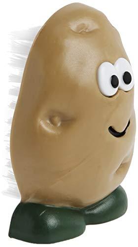 Sommelier 50753 Joie Spud Dude Potato Vegetable Scrub Cleaner Brush, 3 x 2-Inches, Multi Color
