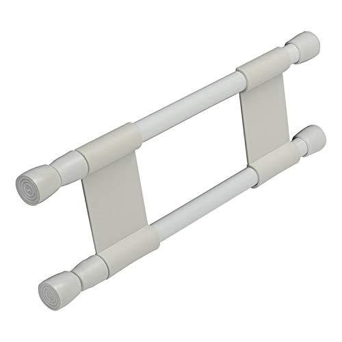 Barre anti-chutes double extensible 25,5-43cm