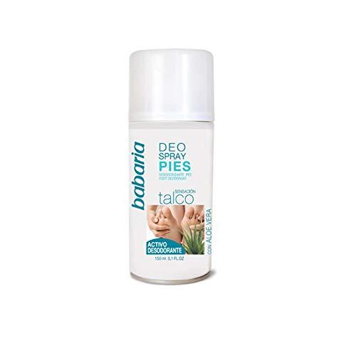 BABARIA PIES - Talco desodorante vaporizador - 150 ml