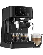 De'Longhi Stilosa ekspres do kawy z ciśnieniem 15 barów, 1100 W, 1 l zaawansowany 1100 W, czarny