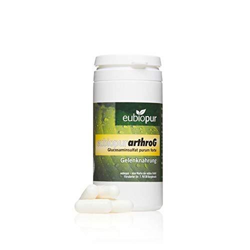 Arthro G, Glucosamin 1400 mg, Gelenknahrung, deutsches Premiumprodukt, Monatspackung