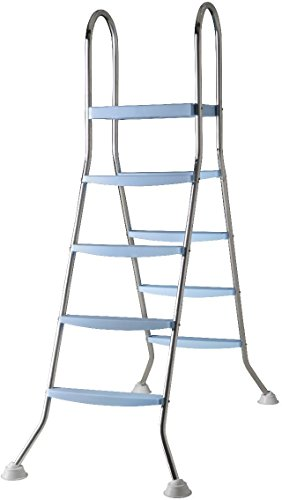 Gre AR11680 - Scaletta per Piscina Fuori Terra, 142 cm