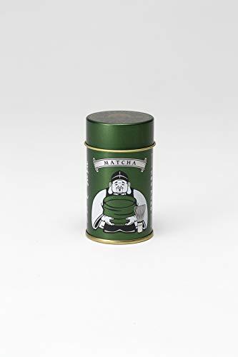 京都祇園侘家古暦堂うま味さん (抹茶缶/14g)化学調味料 無添加 粉末だし 和風だし 抹茶塩風 てんぷら