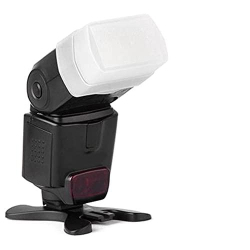 Oumij1 Fotografía Softbox 3Pcs Softbox Flash Bounce Diffusers Cámara Digital Speedlite Fit para Canon 540EX Flash Superior Blanco