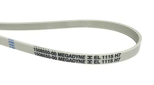 Megadyne - Cinghia per lavatrice EL 1115 H7