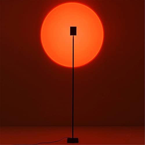 Ryyland Luces De Puesta De Sol Nordic LED Stand Light Sunset Colorido Proyección De Proyección Lámpara Lámpara De Ni?os Habitación para Ni?os Dormitorio Iluminación Club para Fotografía