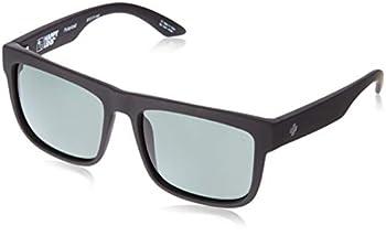Spy Optic Discord Polarized Sunglasses Soft Matte Black/Happy Gray/Green Polar 57 mm