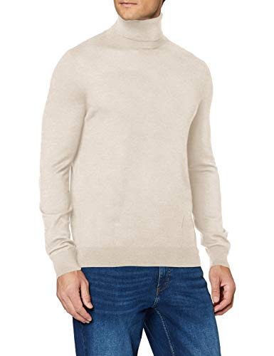 Celio Menos suéter, Off White Mel, XS para Hombre