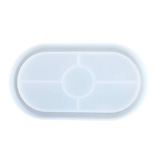 シリコンモールド トレーモールド ジュエリーモールド UVレジン型 DIY 手作り 樹脂 半透明 灰皿型 収納トレイ アクセサリートレイ 可愛い おしゃれ 置物 小物入れ ジュエリー収納 ジュエリートレイ アクセサリー収納 長方形