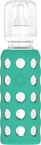 Bottiglia Lifefactory Vetro - biberon 250ml, colori diversi