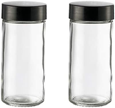 HOUSE AGAIN 2PCS Glass Spice Miami Mall Jars Cash special price Spices Jelly Herbs For DIY