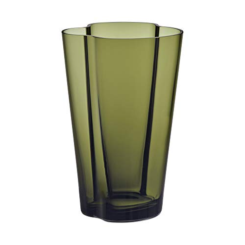Iittala Alvar Aalto Collection Vase 220 mm moosgrün