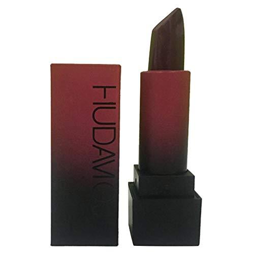 Restposten Kosmetik Matte Lippenstift Set Beauty Beauty Set-HUDA MOJI 12er Pack Lippenstifte Multi-Color Long Lasting Antihaft-Tasse Glamour-Lipstick Matt Misty Smooth Feuchtigkeitsspendender Lipgloss