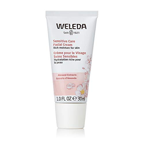 Weleda, Crema viso alle mandorle per pelli sensibili, ad azione calmante, 30 ml