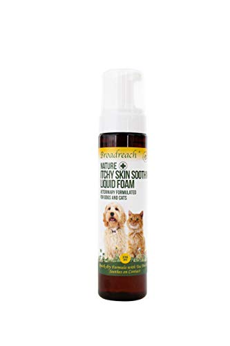 Broadreach Nature + Itchy Skin Soothing Liquid Foam for Dogs and Cats 236 ml