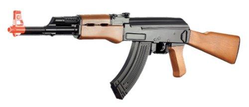 cyma cm022 ak-47 Electric Airsoft Gun Full auto Faux Wood fps-230(Airsoft Gun)