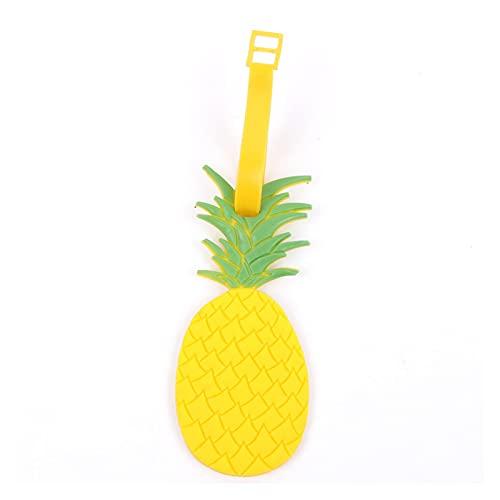TTCI-RR Etichette Bagagli, 1 PC Banana Watermelon Apple Carino Frutta Bagaglio Tag Valigia ID. Tag di indirizzo Moda Silicon Gel Etichette Borsa Tag (Color : E)