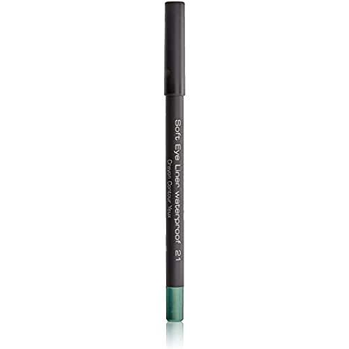 ARTDECO Soft Eyeliner Waterproof, Kajalstift grün, Nr. 21, shiny light green