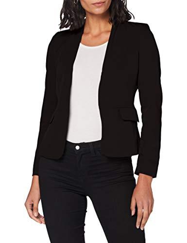 ONLY Damen ONLEBERTA-Theresa L/S Short TLR Blazer, Black, 36