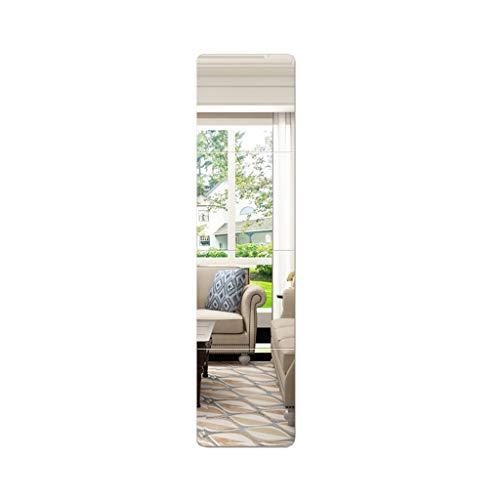 Full-corps D'un Grand Miroir Sans Cadre Mural Miroir Convient For Salle De Bain Montage De Bain Foyer Salon Salle Utilisation Z1207 (Color : Fillet, Size : 50 * 200cm)