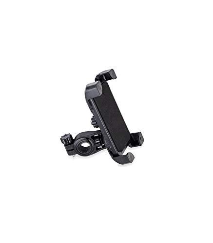 Soporte de móvil Ajustable Color Negro para Scooter eléctrico, ciclimismo, Modelo Universal, Ajustable con sujeción Firme
