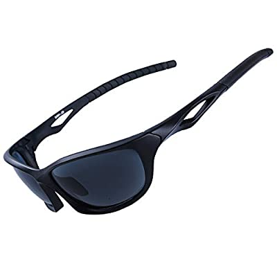 XR Unisex Polarized Sports Sunglasses for Men Women 100% UV Protection TR90 Ultra Lightweight Unbreakable Frame