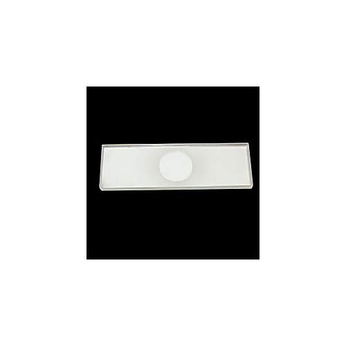 Walter Products C17103 Single Concave Microscope Slide, 1' Width, 3' Length, Pack of 72