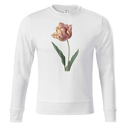 All invited Tulpe Tulip Flower Old Painting Design Unisex Pullover