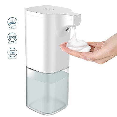 FGFG Dispensador de jabón de Espuma con Sensor Inteligente Completamente automático, dispensador de jabón eléctrico para niños domésticos, baño, Cocina, dispensador de jabón sin Contacto del Hotel