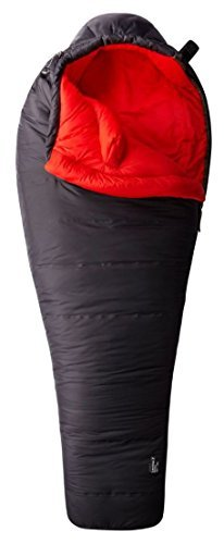 Mountain Hardwear Lamina Z Bonfire 30 Long Sleeping Bag, Shark, RH by Mountain Hardwear