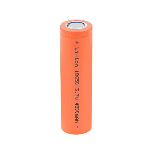 yfkjh 18650 3.7v 4800mah Batería De Iones De Litio, Celda Recargable De Batería De Iones De Litio De Alta Velocidad para Linterna LED Antorcha 1Pcs