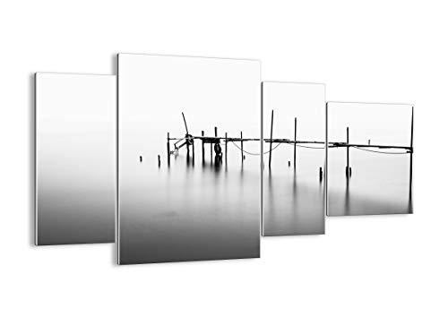 Quadro su Vetro - Quattro 4 Tele - Larghezza: 120cm, Altezza: 70cm - Numero dell'immagine 3727 - Pronto da Appendere - Elementi Multipli - Arte Digitale - Moderno - Quadro in Vetro - GDL120x70-3727