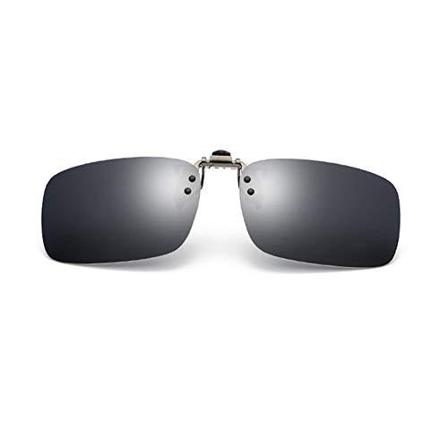 YUNCAT Gafas de Sol Polarizadas Clip Lentes de Espejo de Hombre Mujer Unisex Deportes para exterior/conducción/pesca