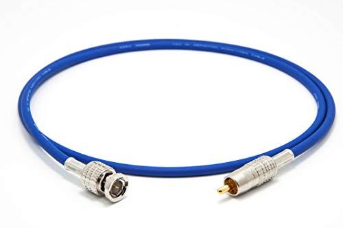 Mogami 2964 Digital Coaxial Cable 75 Ohm | Canare Gold RCA - BNC | HiFi - 1,0 m