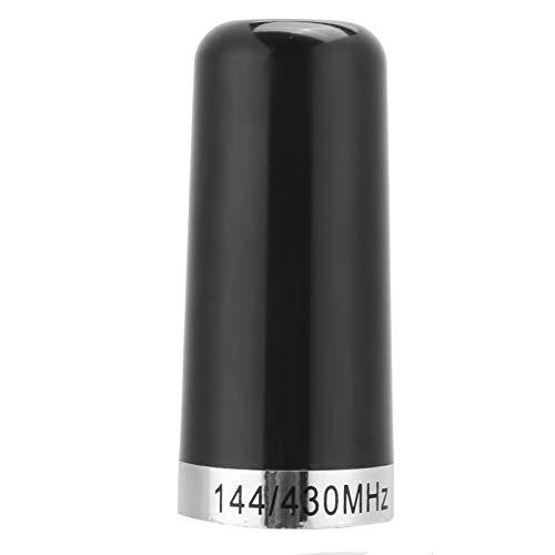 Tomanbery Conector NMO de Metal Universal Ligero 144/430 MHz Antena de Alta Ganancia para Radio móvil de Coche
