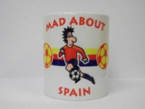 Filmcell Factory Ltd España Internacional de fútbol Copa del Mundo de Taza/Taza Sports Memorabilia